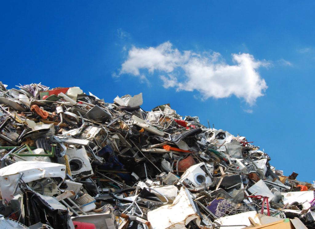how scrapping saves the environment